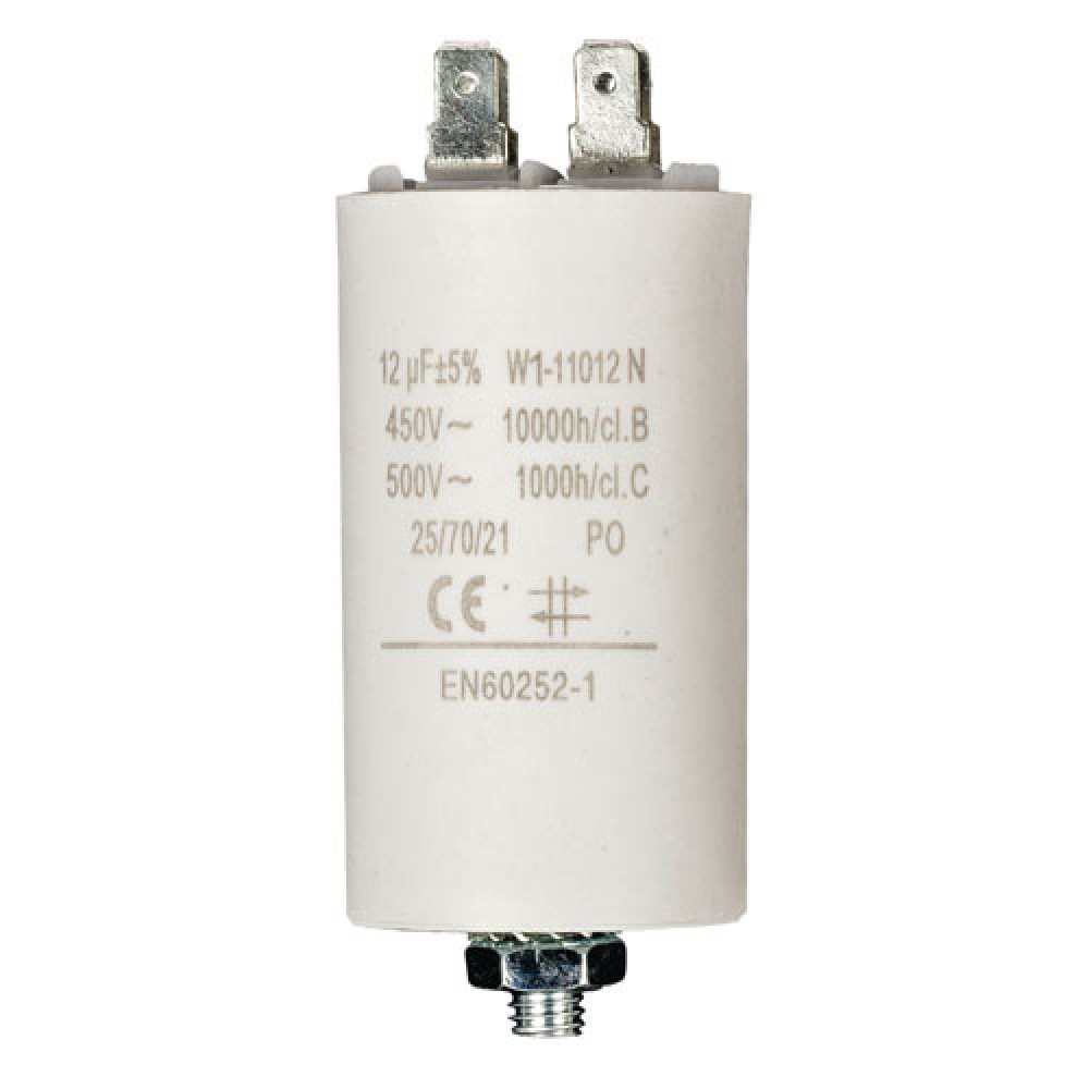 NON ROHS / CONDENSATEUR DEMARRAGE 450V 12UF / BOX 50 PCS