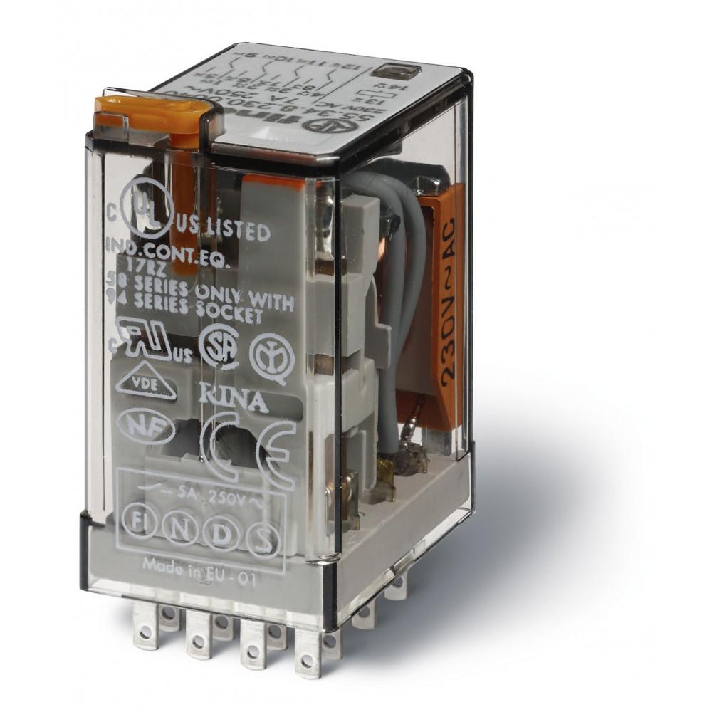 NON ROHS / RELAIS AUXILAIRE 2RT 24VDC / BOX 10 PCS