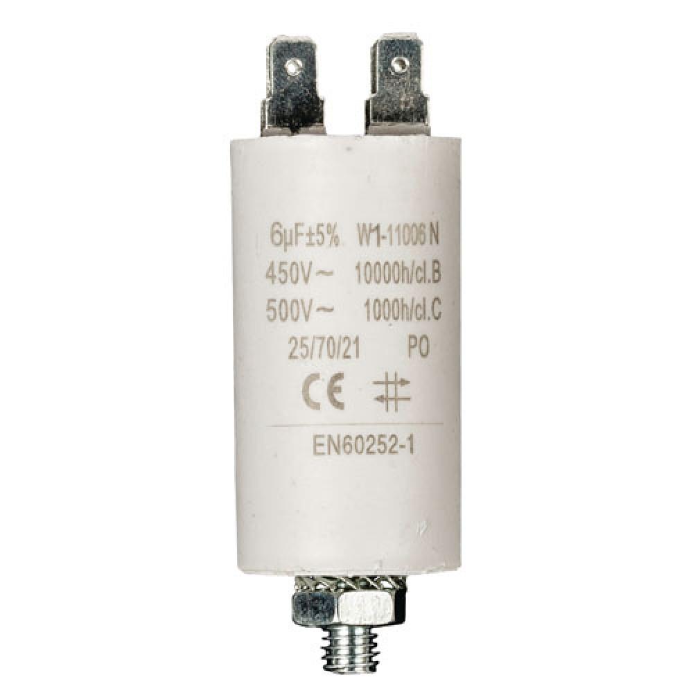 CONDENSATEUR DEMARRAGE COSSES 450V 6MF