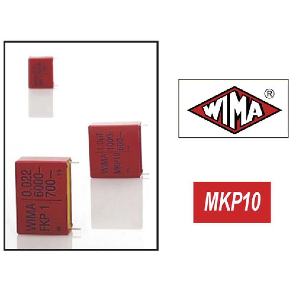 WIMA CONDENSATEUR MKP10 400V 100NF 15MM