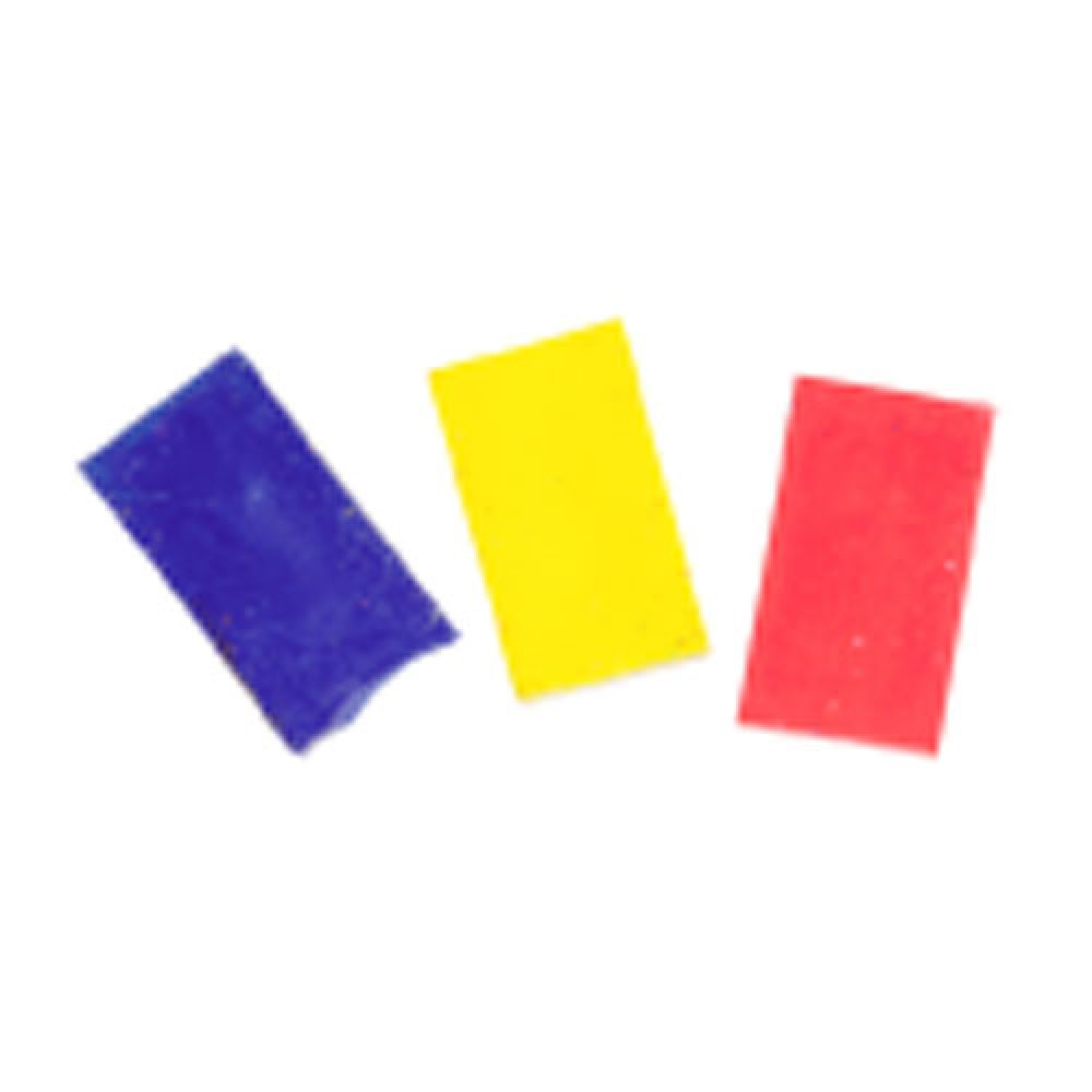 ANTEX  6 PIECES DE CIRE COULEURS VARIEES