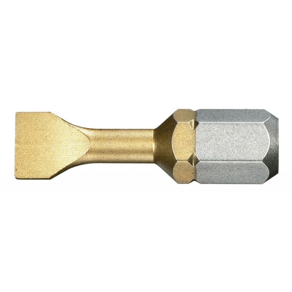 ES.125,5T EMBOUT 1/4 FENTE 5,5 TIN L25MM